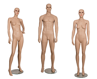 Utstillingsdukke Mannekeng Torso